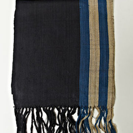 DRIES VAN NOTEN - Sheer Silk Artisan Scarf