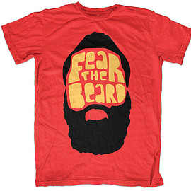 Esty - James Harden 'FEAR THE BEARD' T-shirt - Houston Rockets