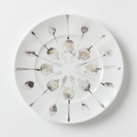 Anthropologie - Sumi Spoons Dessert Plate