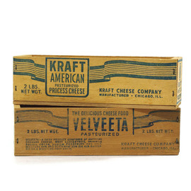 KRAFT - KRAFT cheese crate