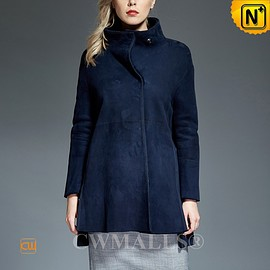 CWMALLS - CWMALLS® Omaha Reversible Sheepskin Coat Navy [Updated Styles 2017]
