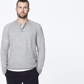 James Perse - CASHMERE HENLEY