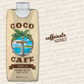 vitacoco - Coco Cafe - Coconut Water Cafe Latte Vanilla