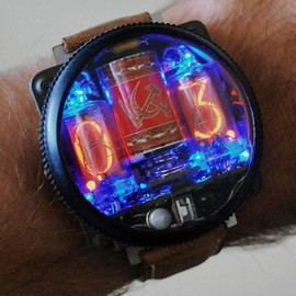 Kopriso / Michel van der Meij - Cold War nixie watch