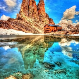 Italy - King Laurinos Towers, Dolomites, Italy: