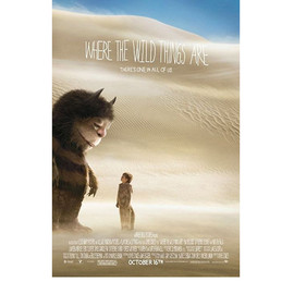 Spike Jonze - Where the Wild Things Are Poster