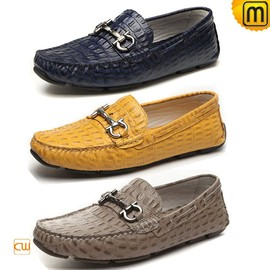 CWMALLS - Gommino Leather Moccasin Loafers for Men CW740012