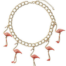 TOPSHOP - Flamingo Collar
