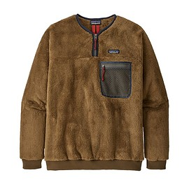 patagonia - M's Double Sided Fleece Pullover, Owl Brown (OWBR)