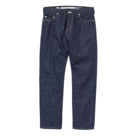 CASH CA - ×NEIGHBORHOOD REGULAR FIT STRAIGHT STRETCH JEANS