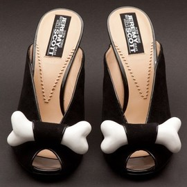 JEREMY SCOTT - Bone heels