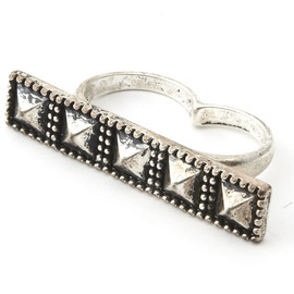 Studded Dual Ring