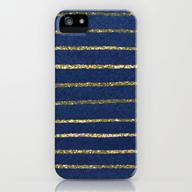 Social Proper - Nautical Sparkle iPhone Case