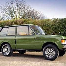 Land Rover - Range Rover 3door Estate 1971y