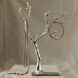 west elm - Cast Metal Jewelry Tree