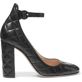 Gianvito Rossi - Quilted leather pumps