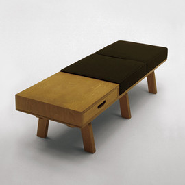 graf, Narrative - 3/6 Bench 2seater