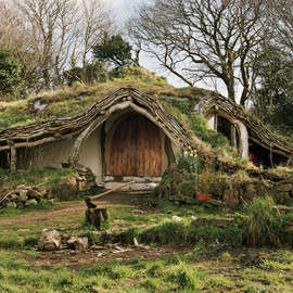 cozy hobbit homes - 森の中の家 a house in the wood
