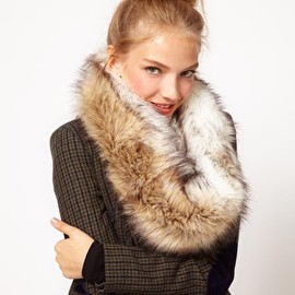ASOS - Image 1 of ASOS Faux Fur Snood