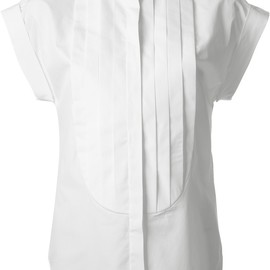 VIKTOR & ROLF - SS2014 pleated structured shirt