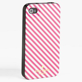 kate spade NEW YORK - iPhone5 Case (Pink Stripe)
