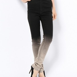 CHEAP MONDAY - Second Skin Faded Black