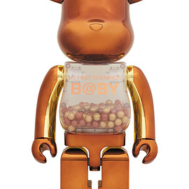MEDICOM TOY - MY FIRST BE@RBRICK B@BY Steampunk Ver.1000%