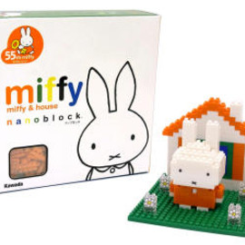miffy - nanoblock miffy55th miffy&house