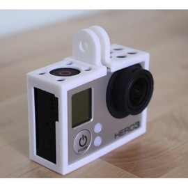shapeways - GoPro Hero3 - Frame'ish (new and improved) - d3wey