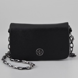 Tory Burch - Tory Burch Saffiano Robinson Chain Bag