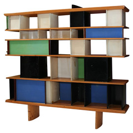 Charlotte Perriand - Maison du Mexique Bookshelf, ca 1957