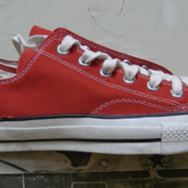 CONVERSE - 70's CHUCK TAYLOR Red OX