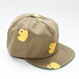 Mark McNairy New Amsterdam - OLIVE CINCH BACK DUCKIE CAP