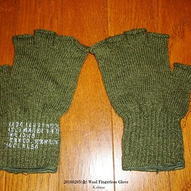 unknown - Wool Fingerless Glove