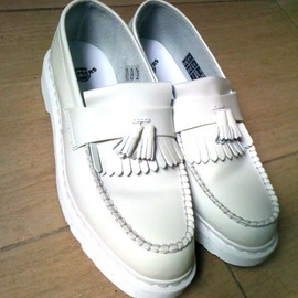 Dr.Martens - TASSLE LOAFER(white)