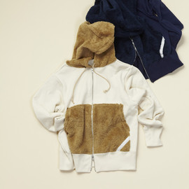 PHINGERIN - TEDDY SWEAT PARKA