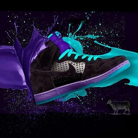 NIKE SB - BLACK SHEEP × NIKE SB DUNK HIGH GRAPE