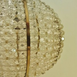anonymous - Hillebrand vintage pineapple chandelier - anonymous - Hillebrand vintage pineapple chandelier