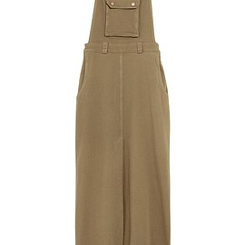 See by Chloé - Stretch-cotton faille maxi dress
