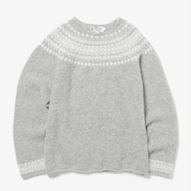 NOR'EASTERLY - NORDIC CREW NECK KNIT for vendor