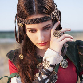 """ArmStreet - Steampunk Ring """"The Alchemists daughter"""""""