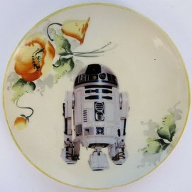 Antique plate Star Wars