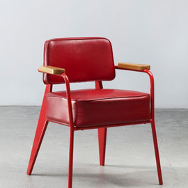 Jean Prouvé - Bridge FB 11 office chair, ca.1951 by Jean Prouvé