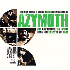 Azymuth - Azymuth/ST(Debut Album Re-Issued)