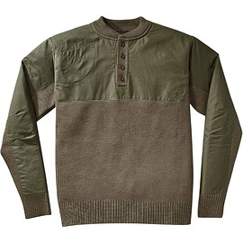 Filson - Filson - Henley Guide Sweater - Men's - Peat Green