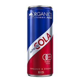 RedBull, ORGANICS BY RED BULL - Simply COLA