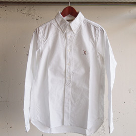 Jackman - Baseball Shirt Oxford [White]