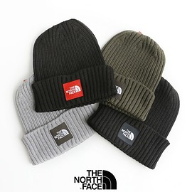 THE NORTH FACE - THE NORTH FACE  Cappucho Lid Knit Cap ( 2019AW )  col. Black × Red