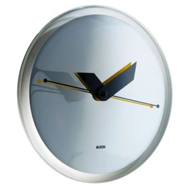 "ALESSI - ""Sole-Mirror""  Wall Clock  (by Alessandro Mendini)"