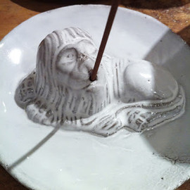 Astier de Villatte - Lion Incense holder
